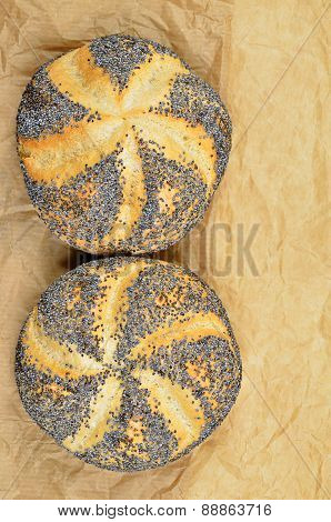 Poppy Seed Rolls, Detail, vertical
