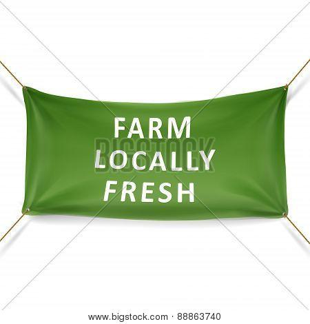 Locally Farm Fresh Banner