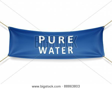 Pure Water Banner