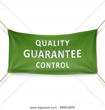 Quality Guarantee Control Banner