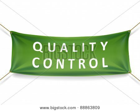 Quality Control Banner