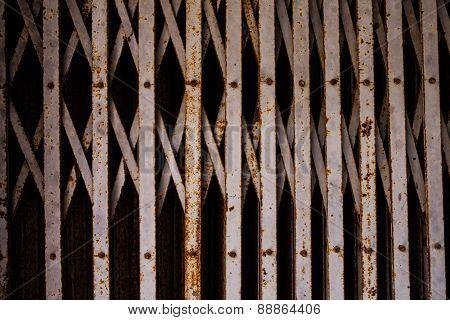 Metal Roller Shutter Gate.