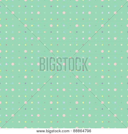 Multicolored Dot Background Vector Point