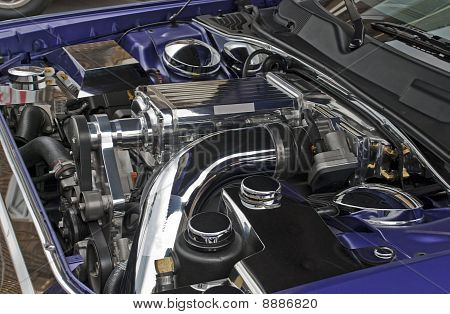 Modern Supercharged High Performance Engine