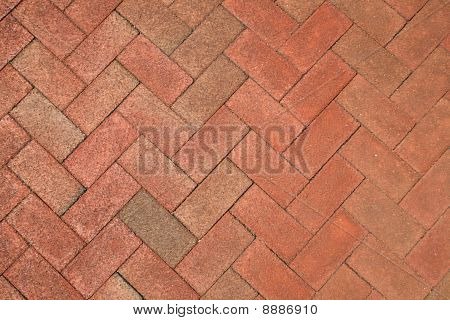 Brick Herringbone Background