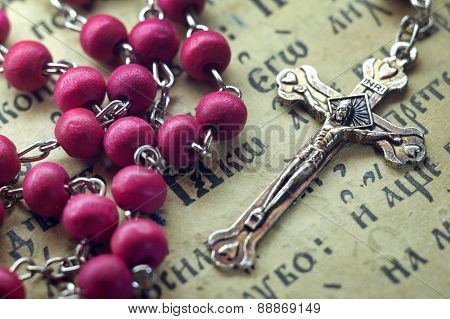 rosary pink in the Bible