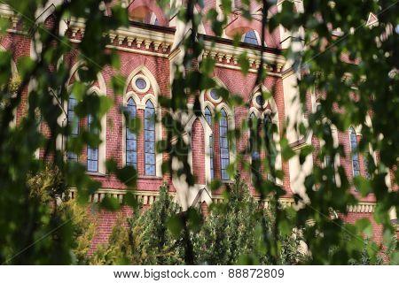 Catholic Church Facade