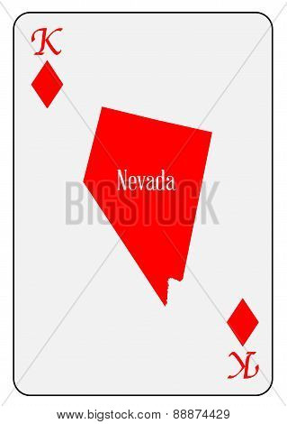 Usa Playing Card King Diamonds