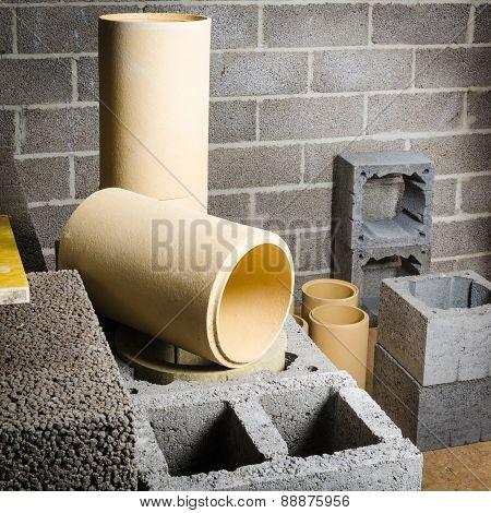 Construction Of Modular Ceramic Chimney
