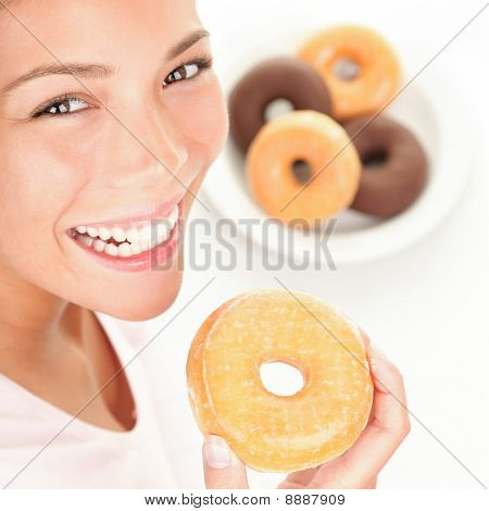 Donuts Woman