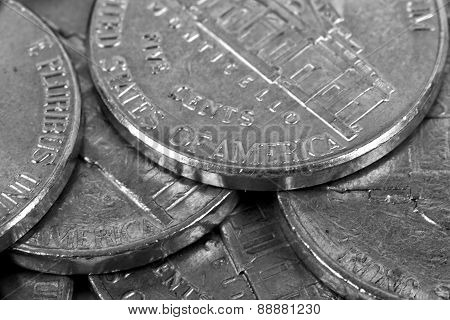 Five Cent Coins