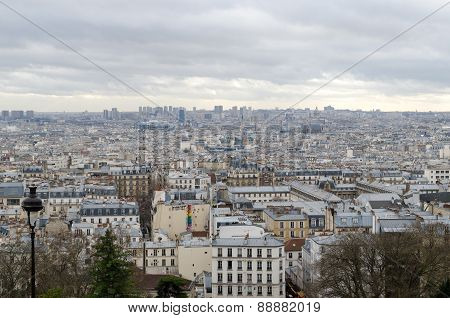 Top view from Sacré-C