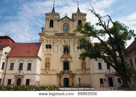 Rajhrad Benediktine Monastery, Czech Republic