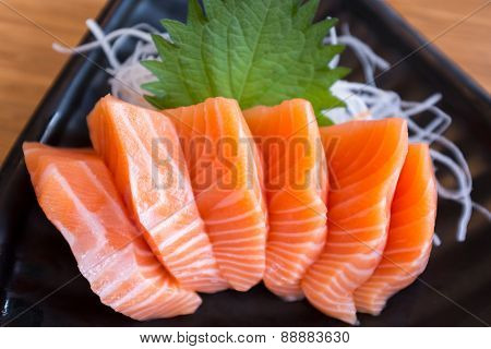 Fresh Salmon Sashimi