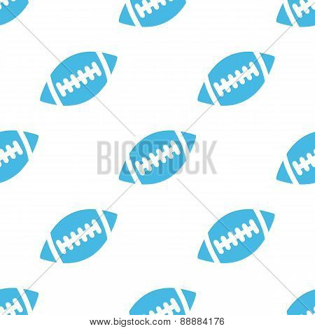 Football white pattern