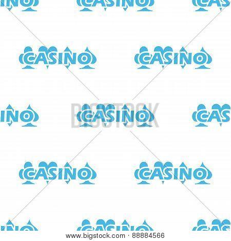 Casino white pattern