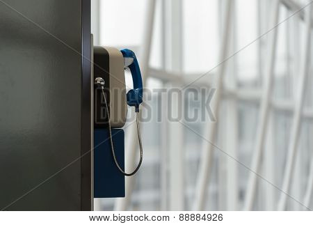 Payphone in Hong Kong airport
