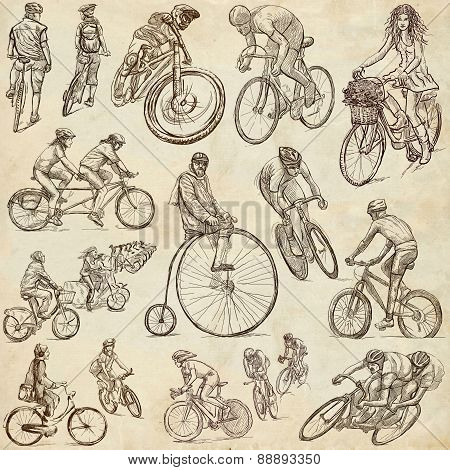 Cycling - Freehand Sketches, Collection