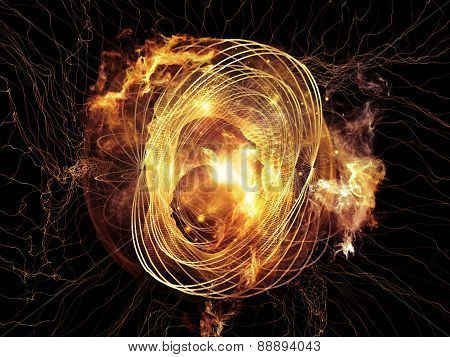 The Flame Of Abstract Visualization