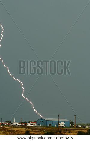 Lightning unleashes awesome power