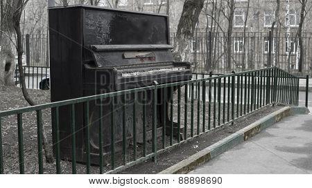 Old pianoforte