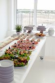 pic of buffet  - Buffet at a party or event - JPG