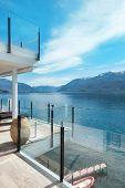 pic of penthouse  - beautiful terrace of a modern penthouse - JPG
