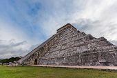 pic of yucatan  - Chichen Itza Mayan Pyramid Yucatan in Mexico - JPG