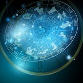foto of libra  - Astrology concept - JPG