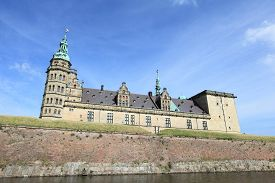 picture of hamlet  - Kronborg Castle - JPG
