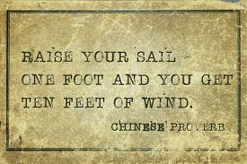 picture of tens  - Raise your sail one foot and you get ten feet of wind  - JPG