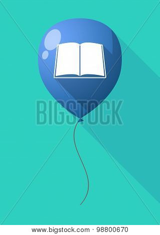 Long Shadow Balloon With A Book