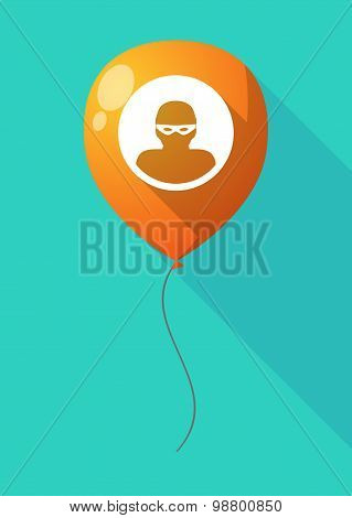 Long Shadow Balloon With A Thief