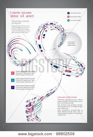 Abstract Colored Flyer