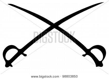 Crossed Sabres