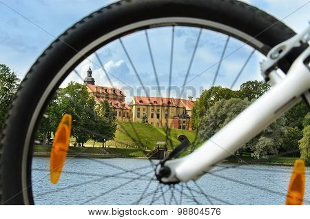 Cycling Tour, Medieval Castle In Nesvizh