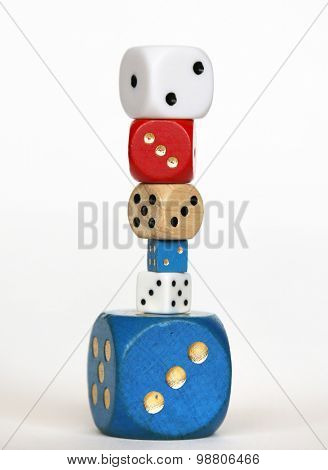 Heap of dice