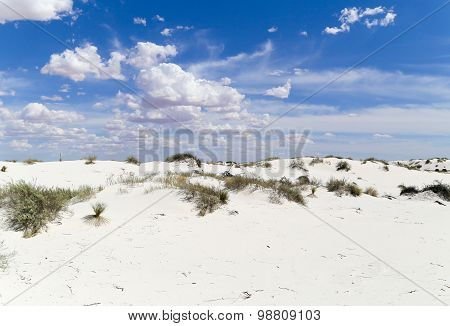 White Sands - Blue Sky