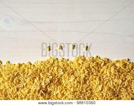 Alphabet Noodles, Enough