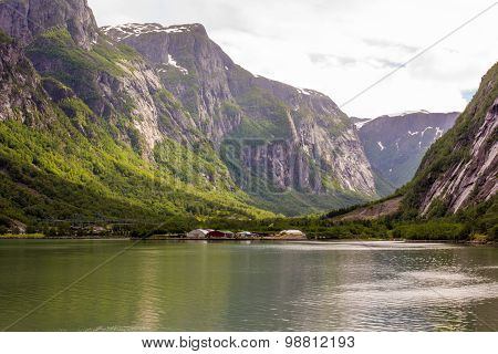 Beauty Of The Fjords