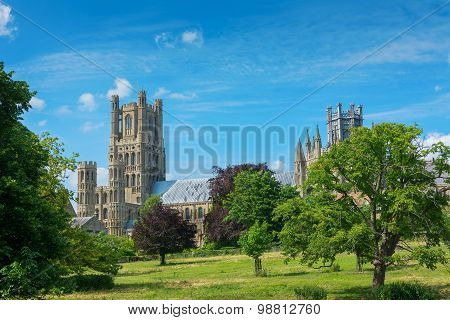 Ely Cathedral Cambridgeshire England