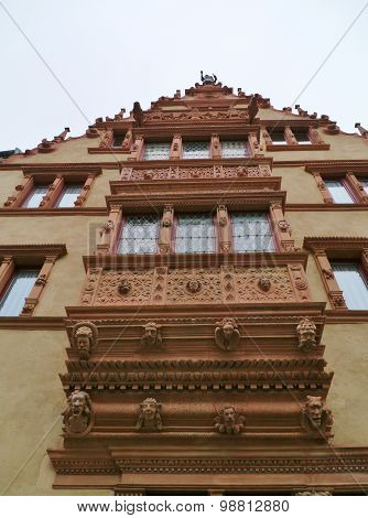 Historic house in Colmar in France