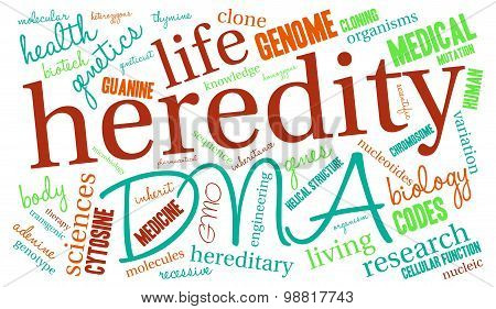 Heredity Word Cloud