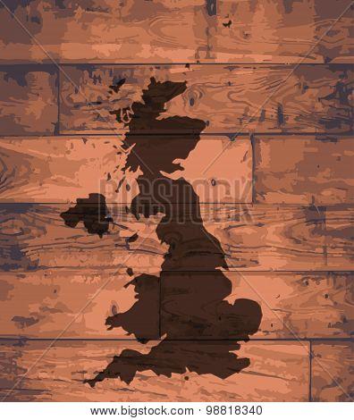U.K. Map Brand
