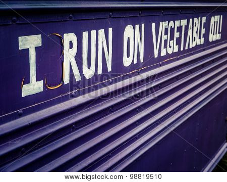 Biofuel Bus