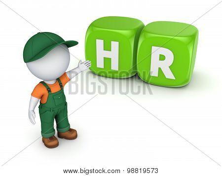 HR concept.