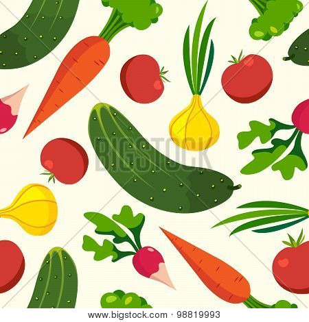 Vegetables pattern backgrounds healthy foo