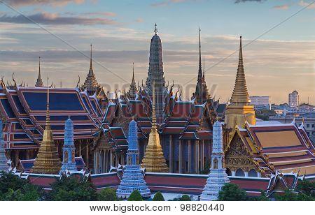 Emerald Buddha,Grand palace in Bangkok