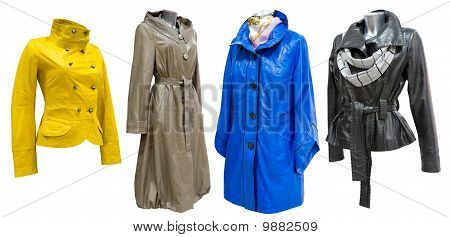 Leather Coats Set