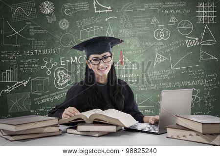 Postgraduate Studying In Class 1